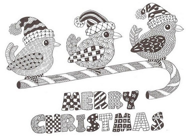 merry christmas colouring page adult colouring christmas easter zentangles pinterest. Black Bedroom Furniture Sets. Home Design Ideas