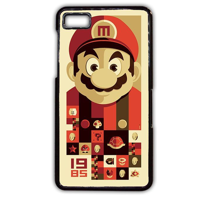 Mario Bross Old Game Blackberry Phonecase For Blackberry Q10