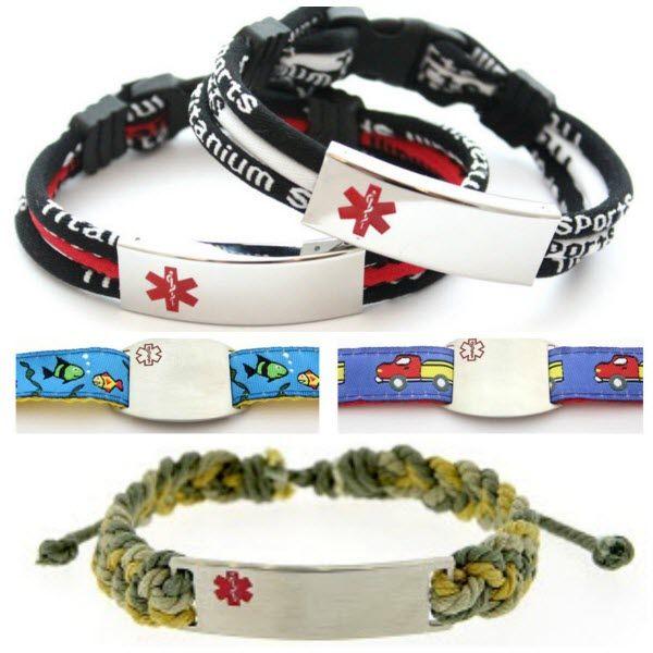 Celebrities Design Stylish Medical Alert Bracelets For Kids Child Mode