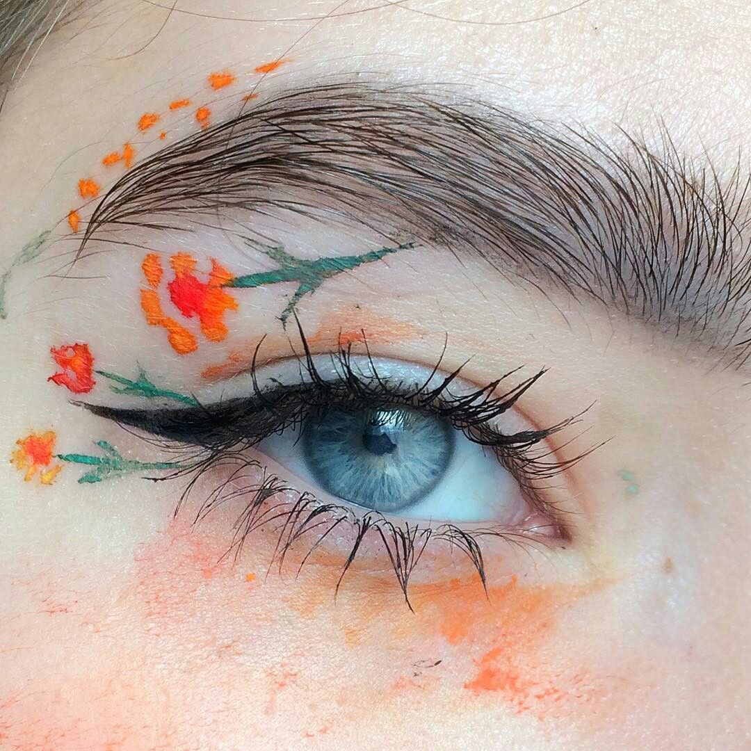 I Wanna Do Crazy Artsy Makeup Like This But I Dont Have The Skills The Setup Or The Money Eyemakeuphow Eye Makeup Art Makeup Art Artistry Makeup