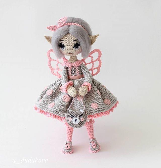 Fairy Amigurumi Doll - Free Crochet Pattern - Stella's Yarn Universe | 669x640