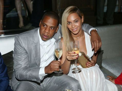 Jay Z and Beyonce Celebrate Club Milestone in New York