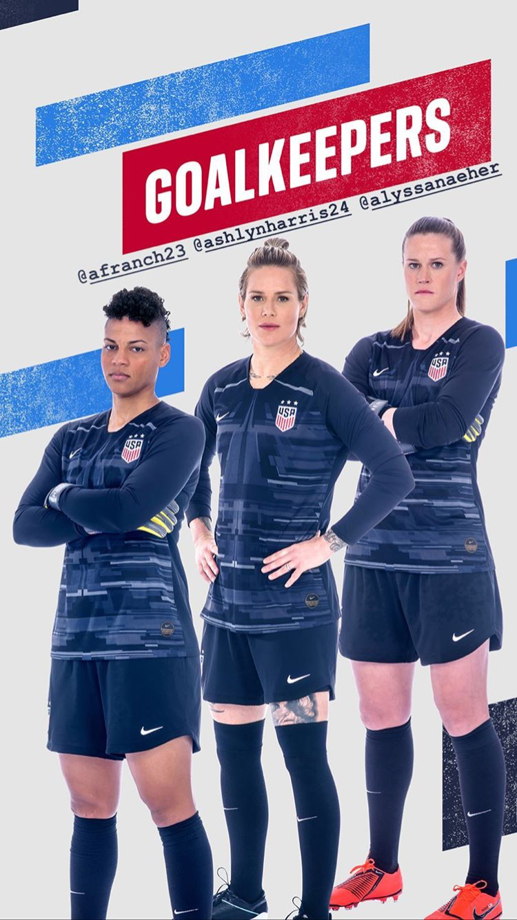 Uswnt Gk Wwc Roster Drop May 2 2019 Usa Soccer Women Us Women S National Soccer Team Uswnt