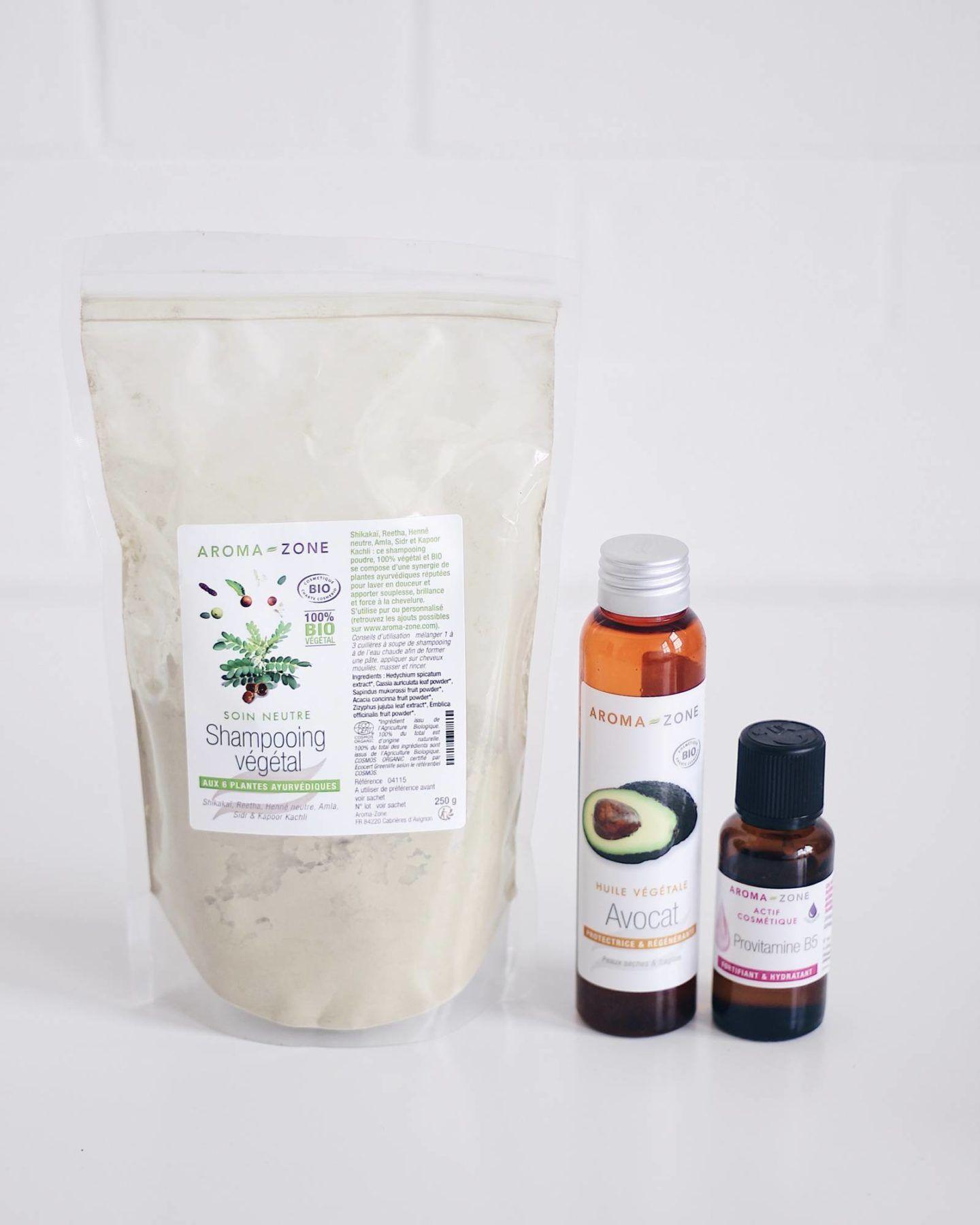 Shampoing Vegetal Bio Aroma Zone Mon Avis Shampoing Vegetal