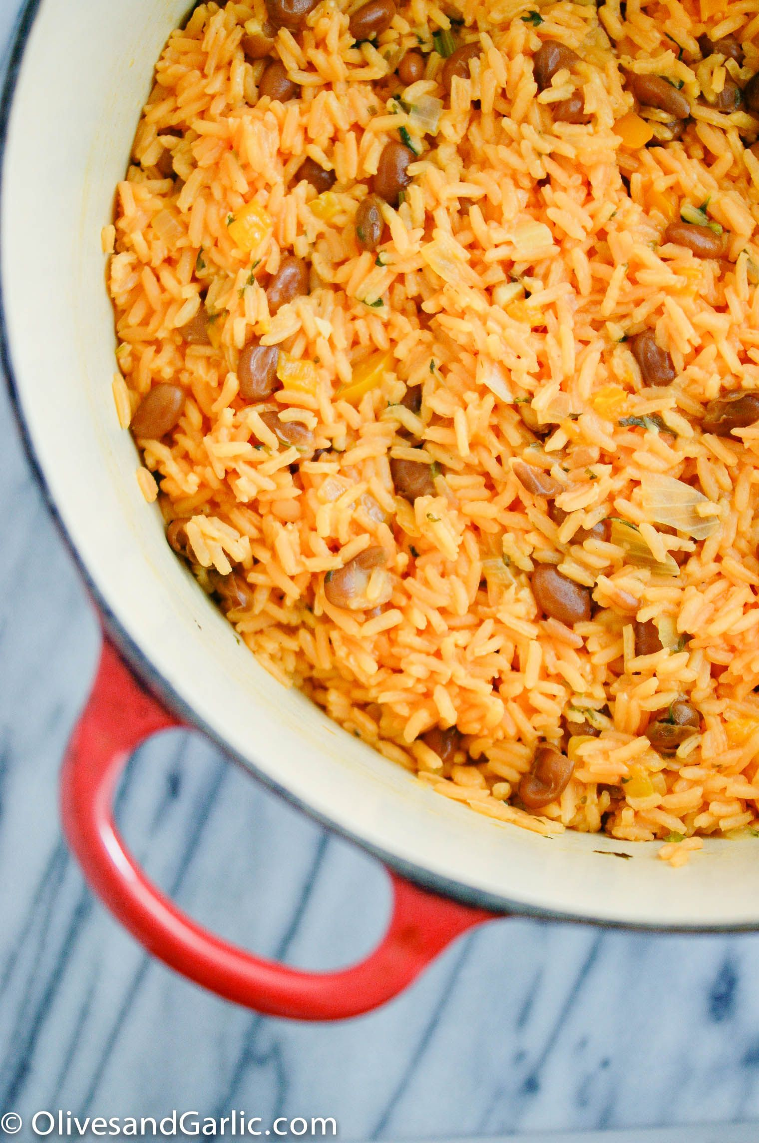 Sofrito Rice Beans Sofrito Recipes Mexican Food Recipes
