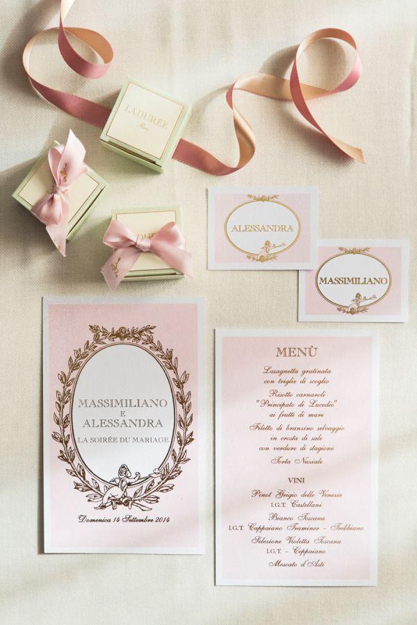 Parisian-Inspired Wedding Details We Love Parisians, Wedding and - invitation unveiling