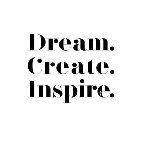 Don't be afraid to dream and create | The Red Fairy Project