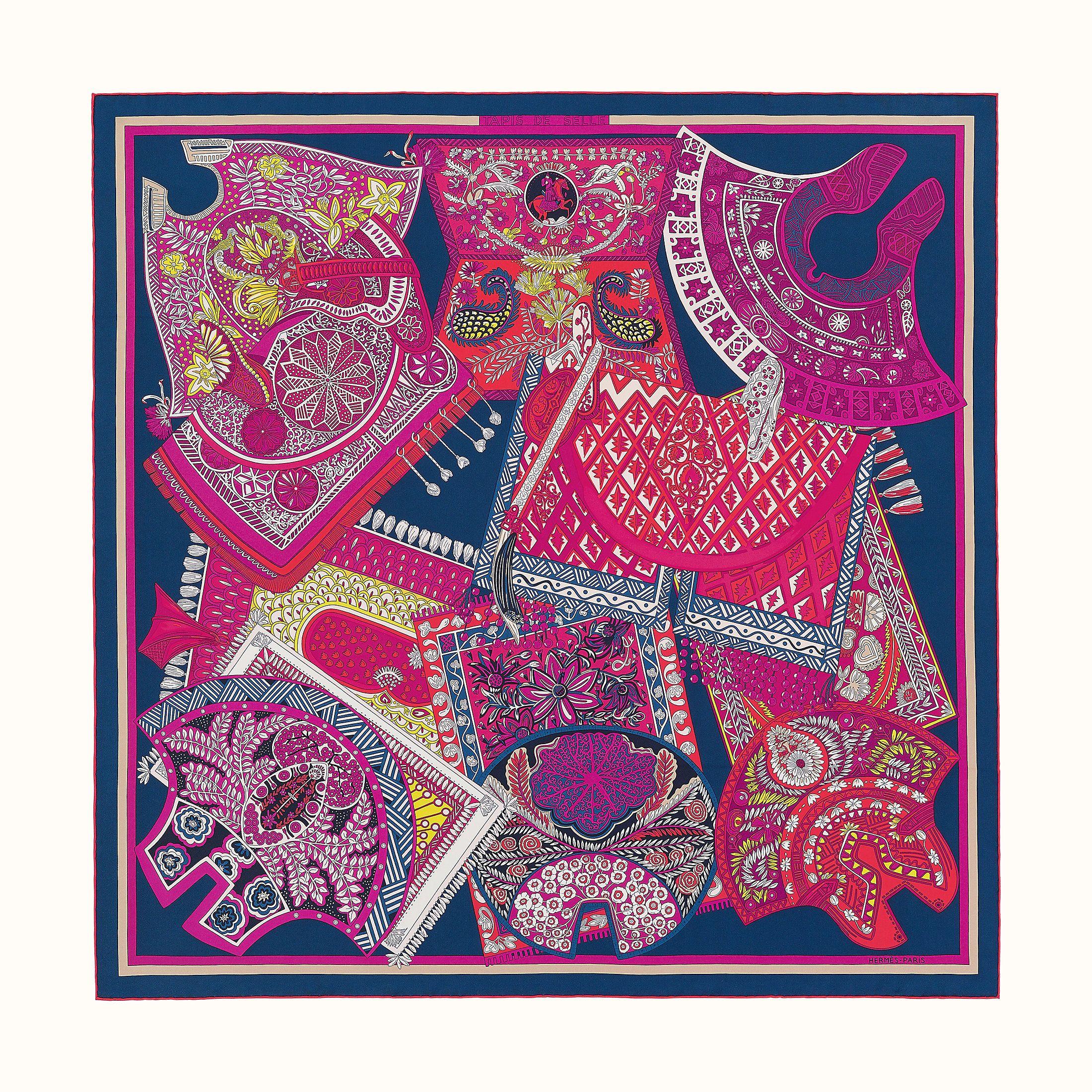 tapis de selle scarf 90