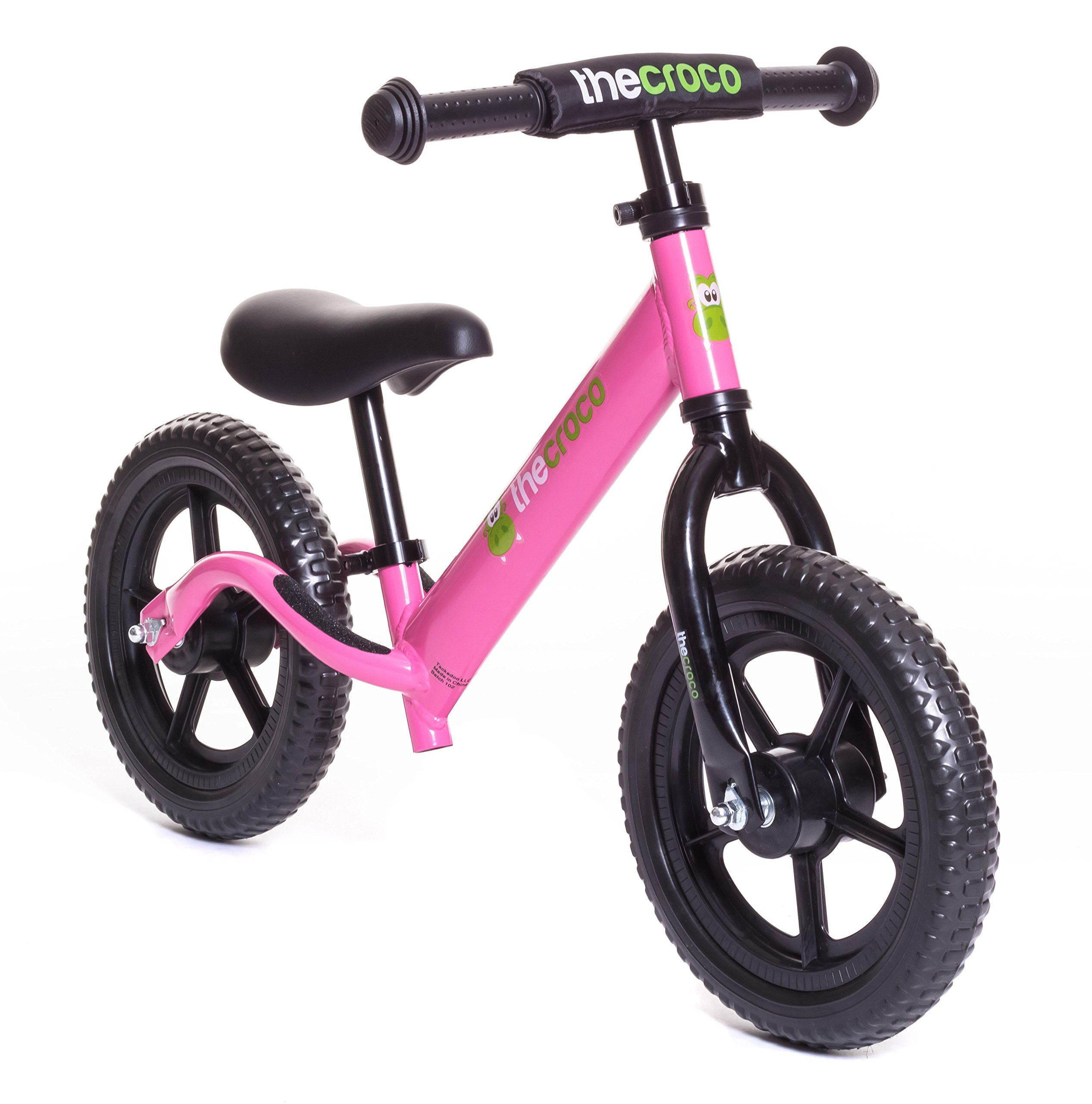 TheCroco - LIGHTEST Aluminum Balance Bike, (4.3 lbs), Ages 1.5 to 5 ...