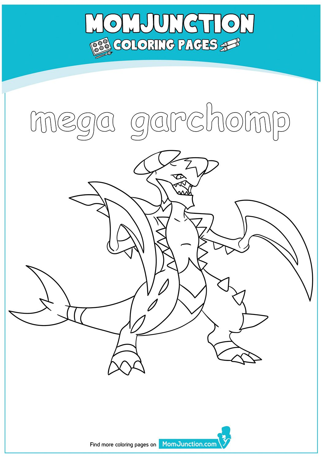 Click Share This Story On Facebook Coloring Pages Pokemon Coloring Pages Mom Junction