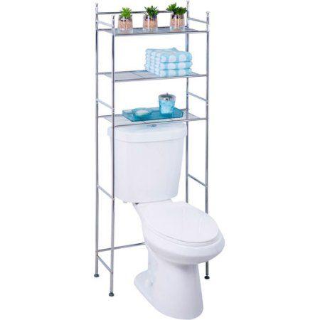 Home Toilet Storage Metal Bathroom Shelf Small Bathroom
