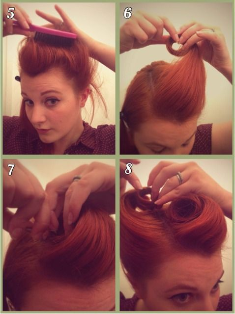 Photo of Mother of Vintage: Perfect Victory Rolls                                        …