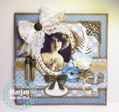 Marjan's scrapkaarten: Marianne Design blog...