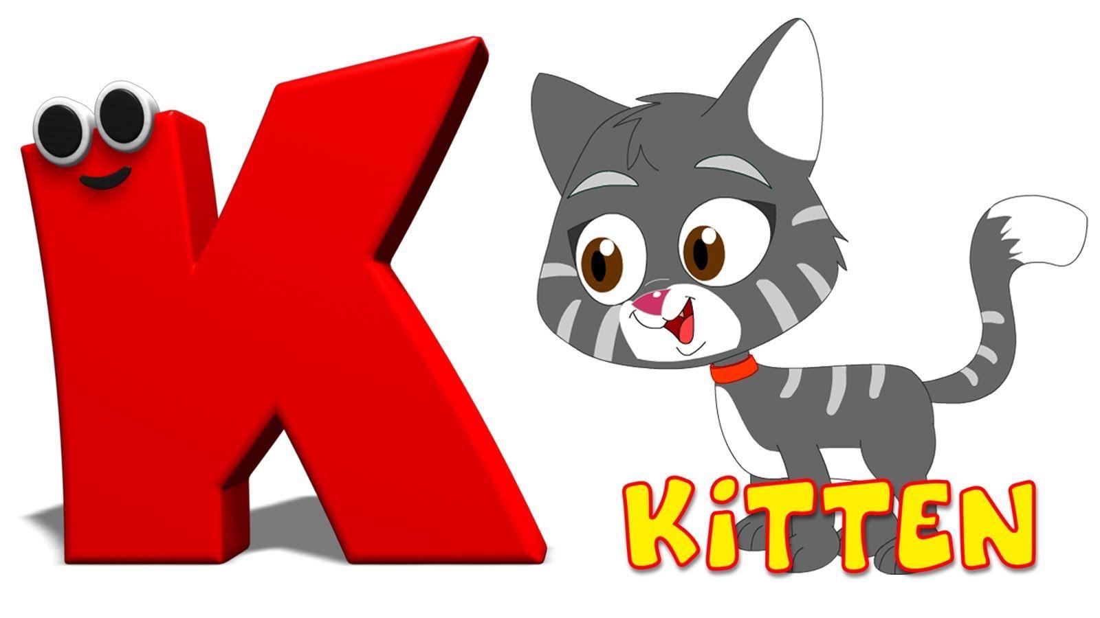 Phonics Letter K Song Kids Songs Alphabet Songs Letter K