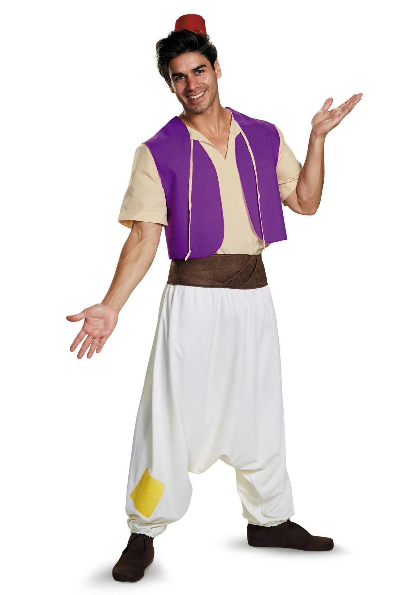 Animation Aladdin Prince King Cosplay Costume Kids Boys Mens Outfit Party Lot