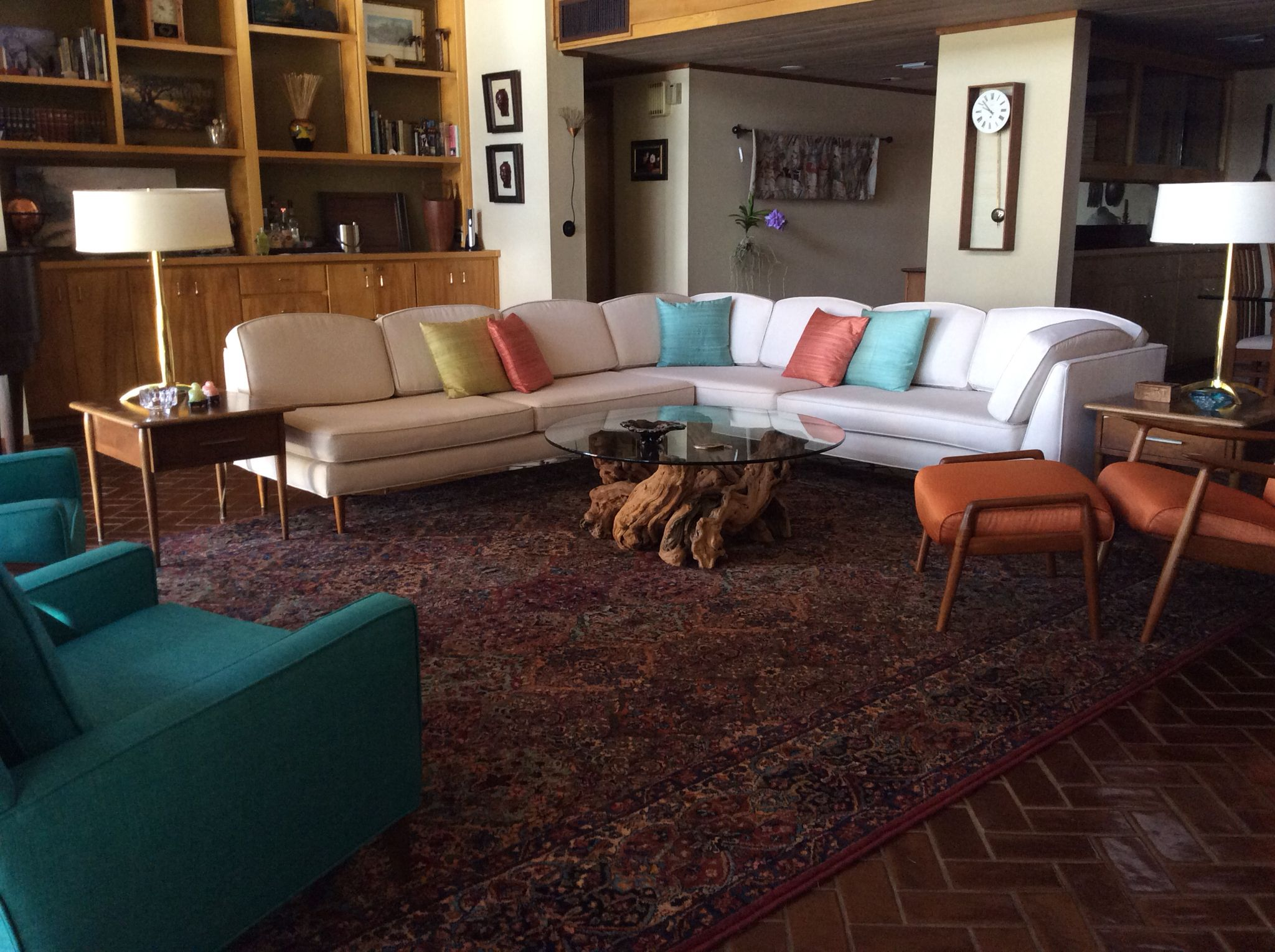 The Marzee Sectional Circa 1962 By Lancaster Furniture, Portland Maine