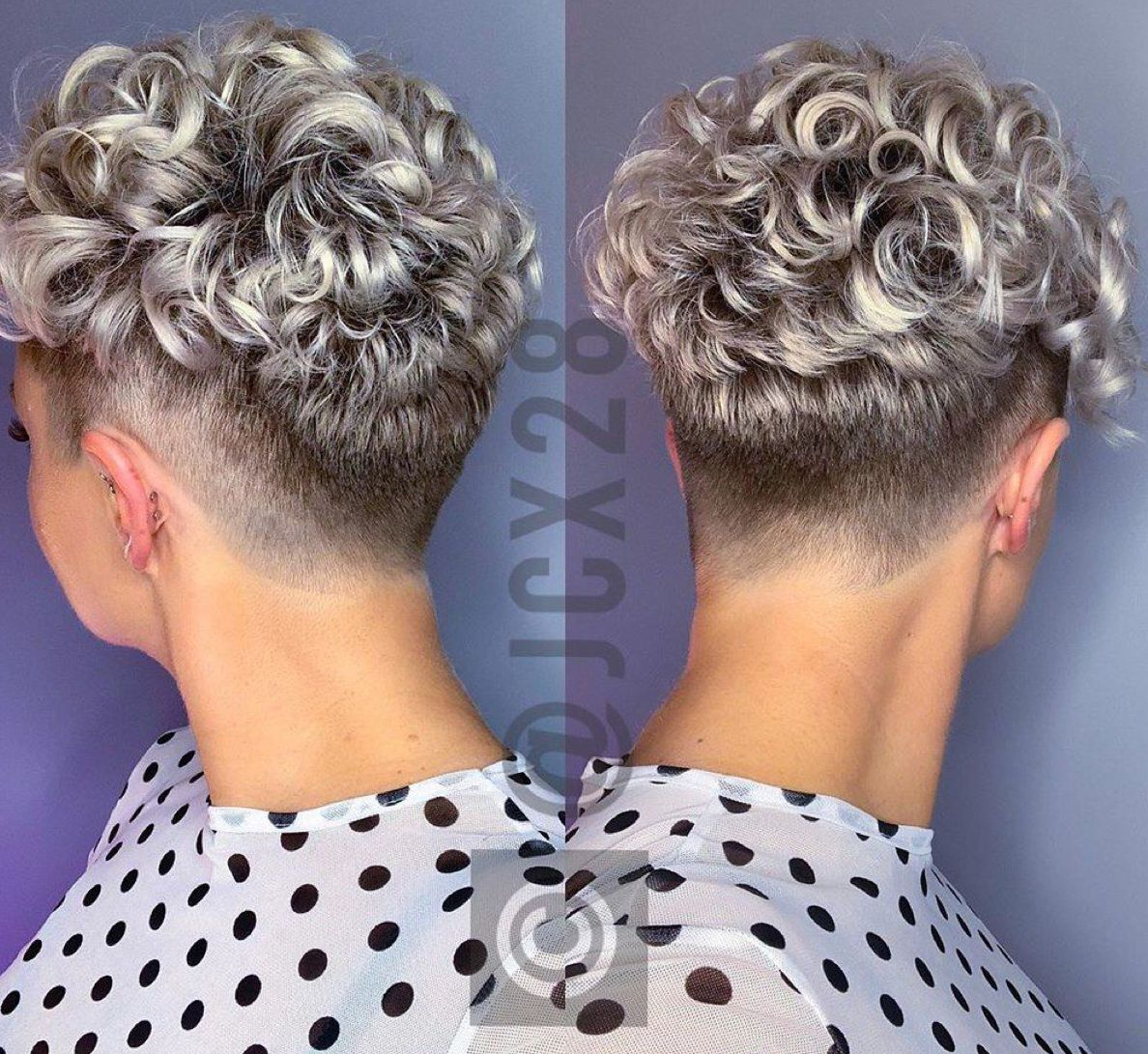 Pin By Layanne A Ribeiro On Krullen Kapsels 01 Curly Pixie Haircuts Curly Pixie Hairstyles Short Permed Hair