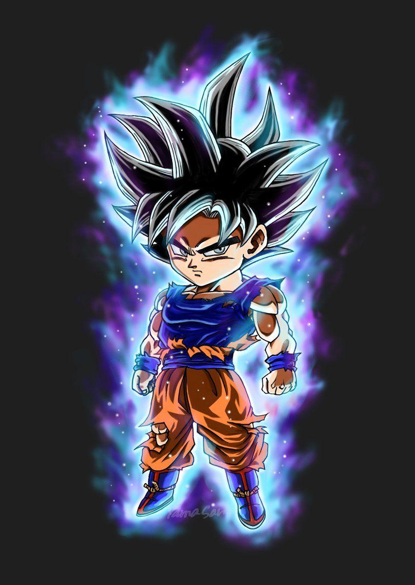 7 Twitter Dbz Dragon Ball Goku Chibi Goku