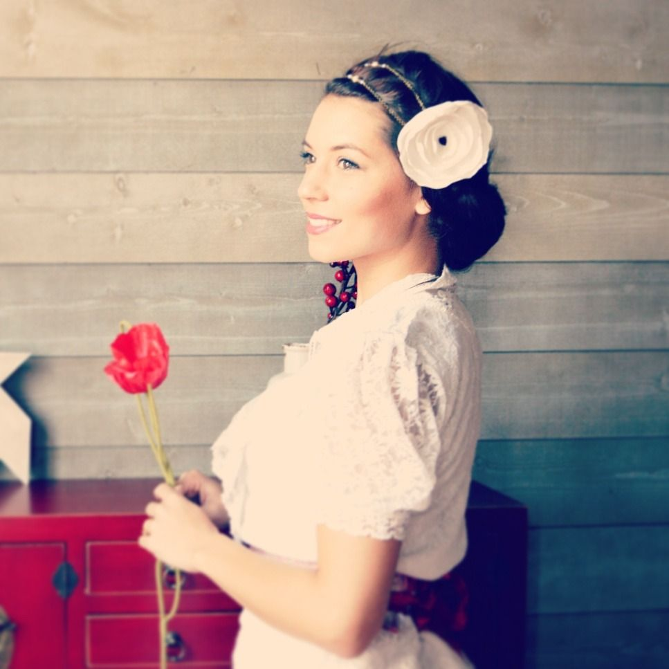 Coiffures Mariage And Retro On Pinterest