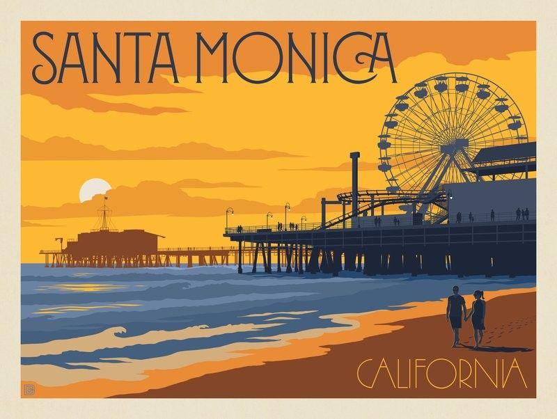 Anderson Design Group American Travel Santa Monica Pier