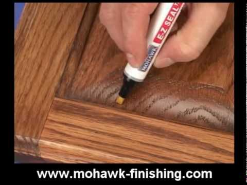 11 How To Do A Burn In Repair For Wood Damages By Mohawk Finishing Products Mpg Youtube Repair Mohawk It Is Finished