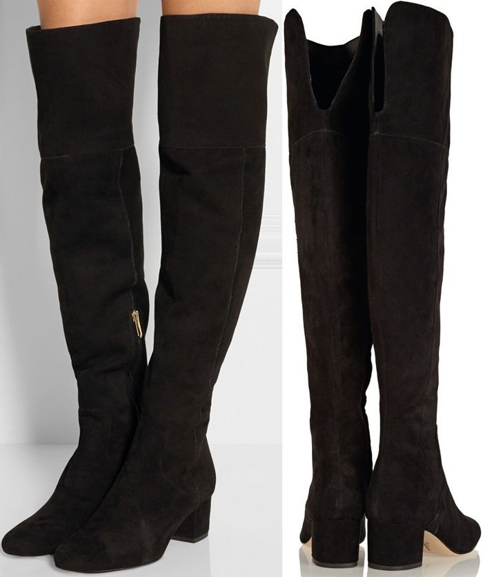 6e3d6a9a50164 Sam Edelman  Elina  Thigh-High Boots Black