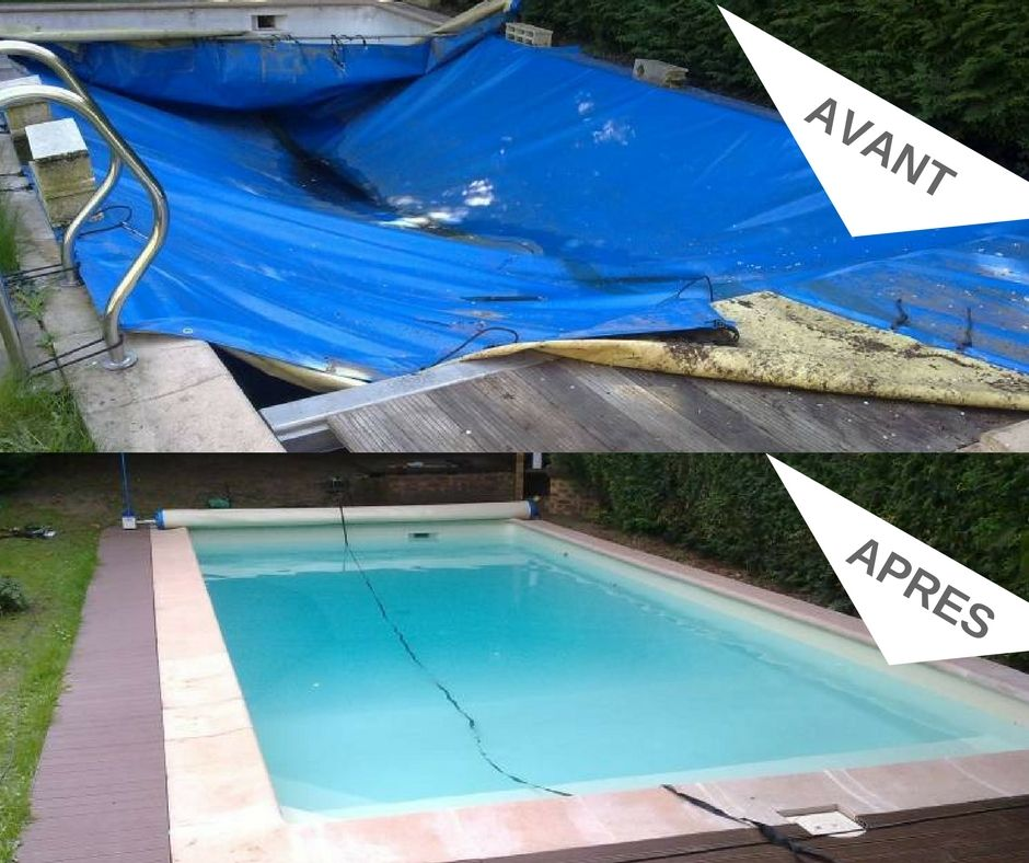 Rénovation du0027une piscine par le irrijardin Coignières    www