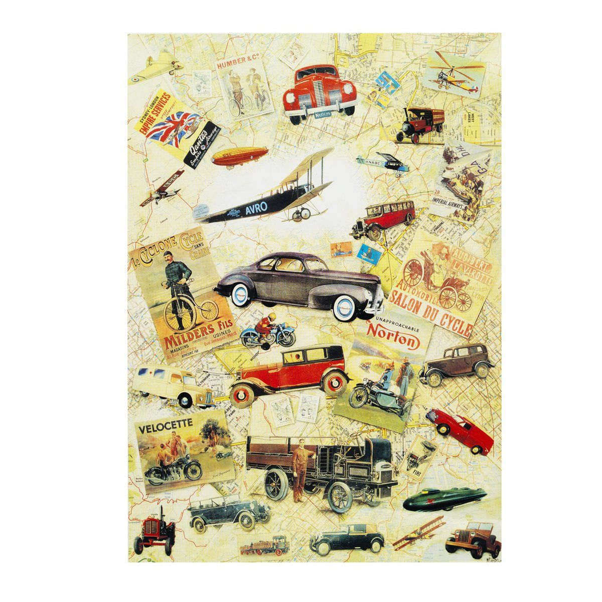 Decoupage Paper Antique Cars Decoupage Paper Decoupage