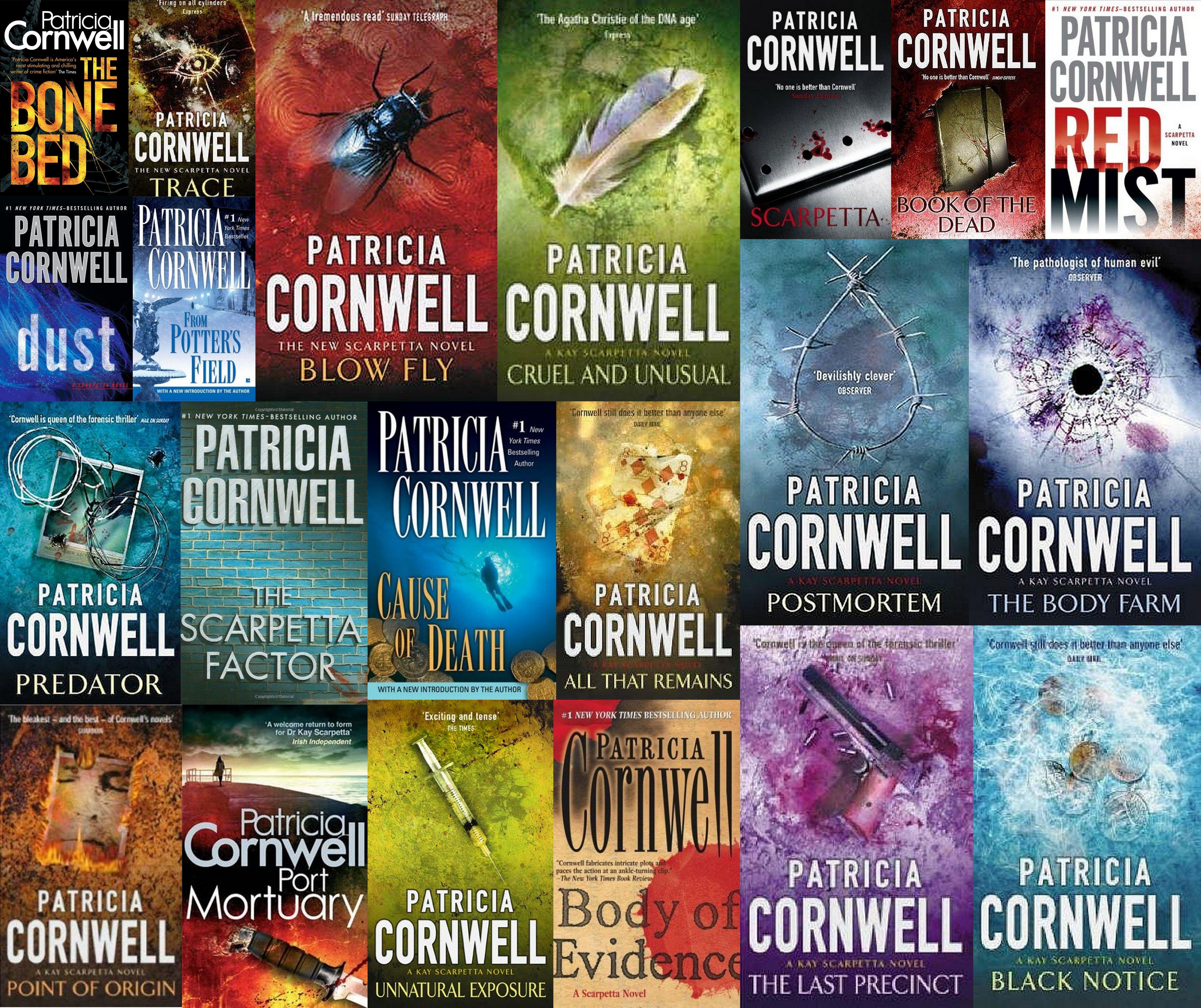 Patricia Cornwell's Kay Scarpetta Series Next Book (#22)