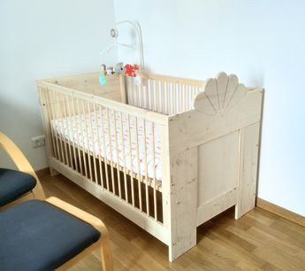 babybett f r anf nger bauanleitung zum selber bauen baby. Black Bedroom Furniture Sets. Home Design Ideas