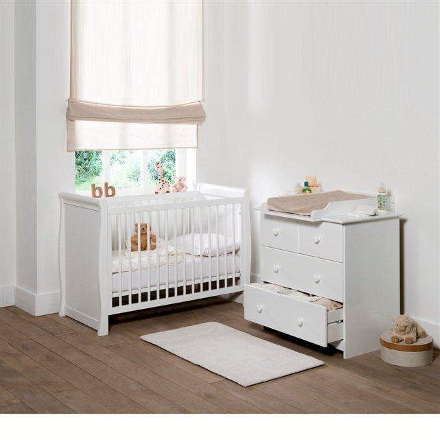 Lit bébé Méa chambre bébé Pinterest