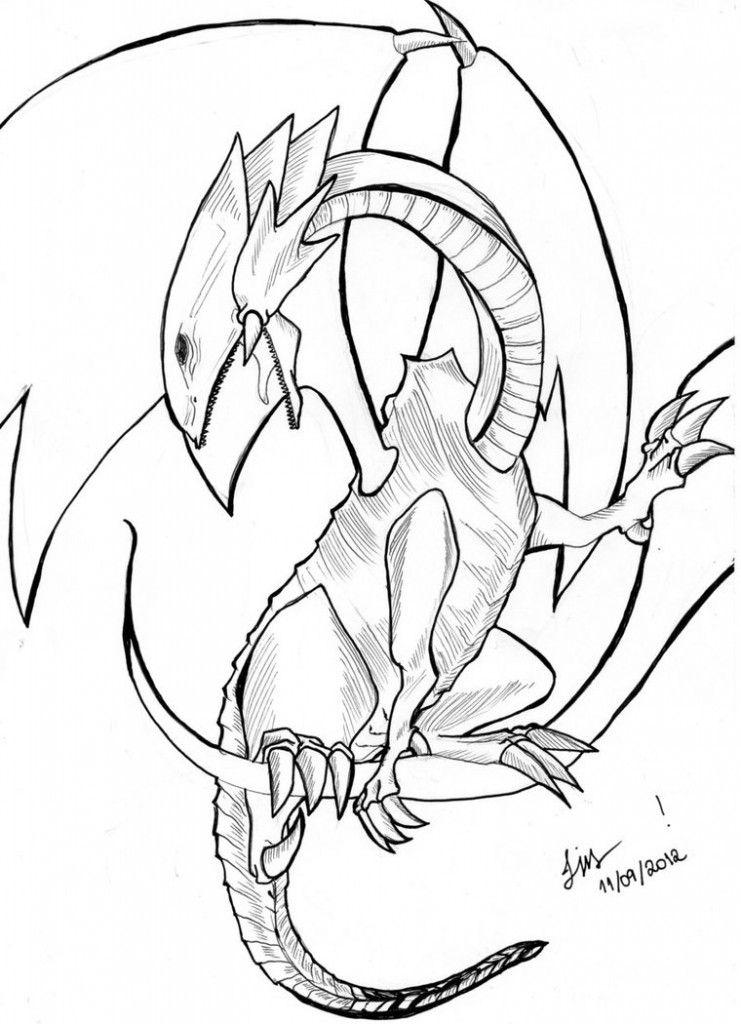 Free Printable Dragon Coloring Pages For Kids   skortch   Pinterest