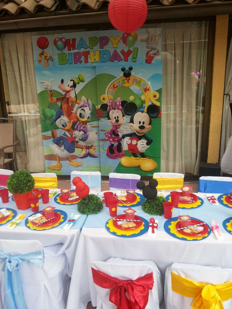 mickey mouse clubhouse birthday party ideas mickey mouse party