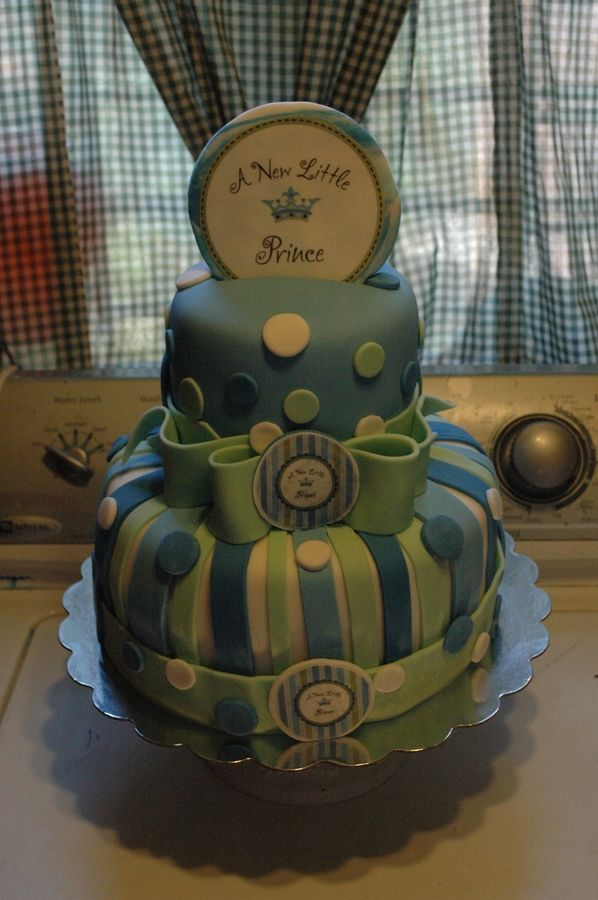 This Was For A Little Prince Theme For A Baby Shower