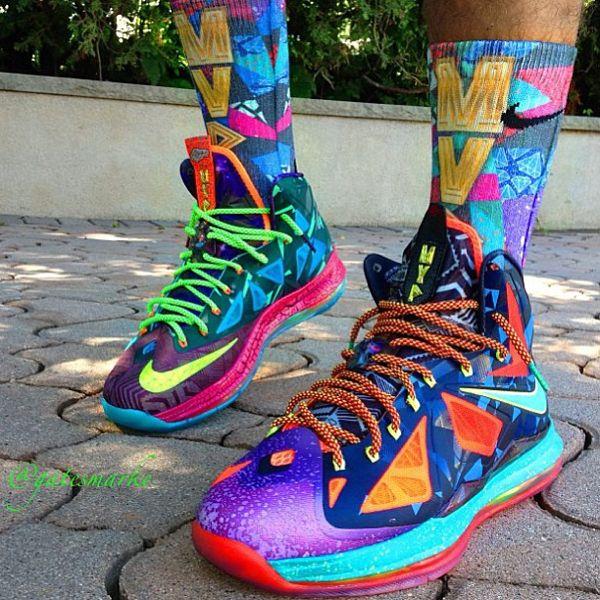 bd456953889 Nike Lebron 10 MVP - Sneakershouts | MOTIVATION | Nike Lebron, Shoes ...