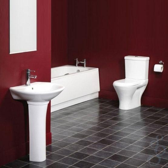 Idees De Salle De Bains Rouge 82 Idees Incroyables Salle De Bain Rouge Salle De Bain Design Deco Salle De Bain Toilette