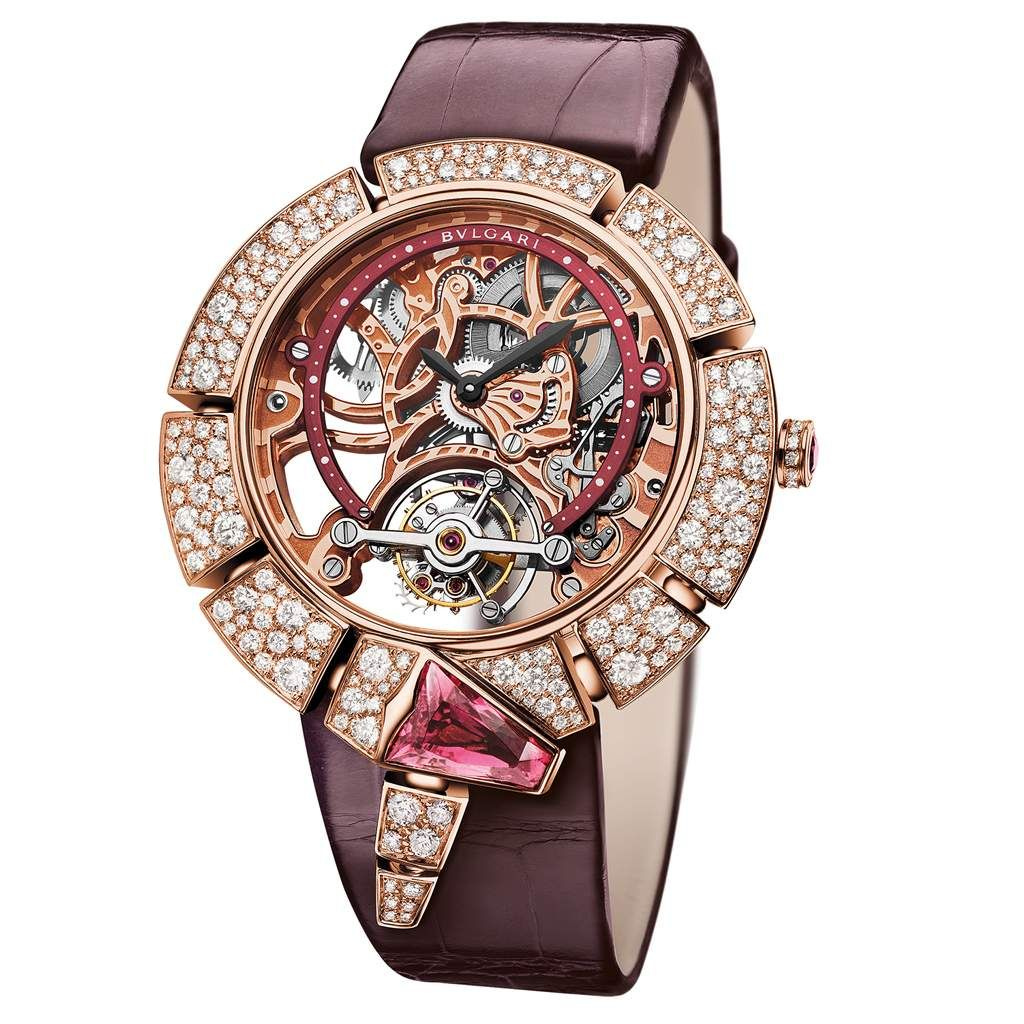 Bvlgari Serpenti Incantati Tourbillon Lumiere