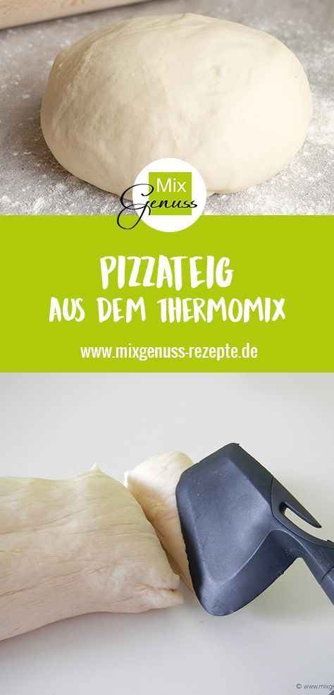 Photo of Pizzateig – MixGenuss Blog