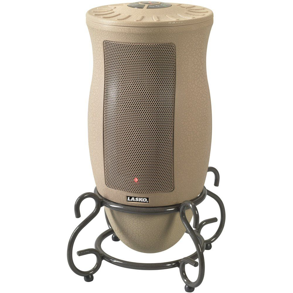 Amazon Com Lasko 6435 Designer Series Ceramic Oscillating Heater With Remote Control Space Heaters 53 99 Lasko Space Heater Portable Heater