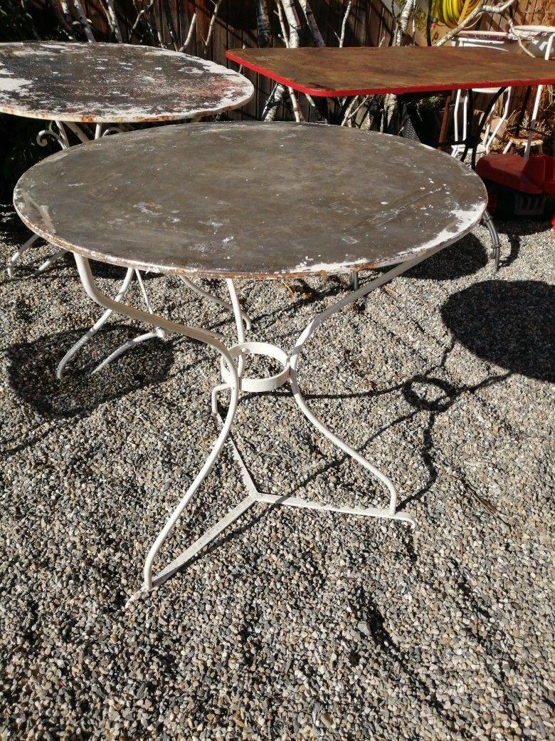 Garten Tisch Unrestauriert Antik Rund 2020 Tisch Antik Garten