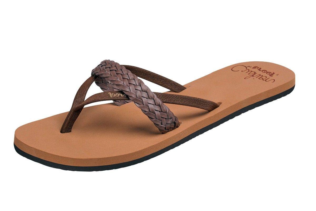 f21a44f8427816 Reef Cushion Wild Brown Braided Women s Flip Flops