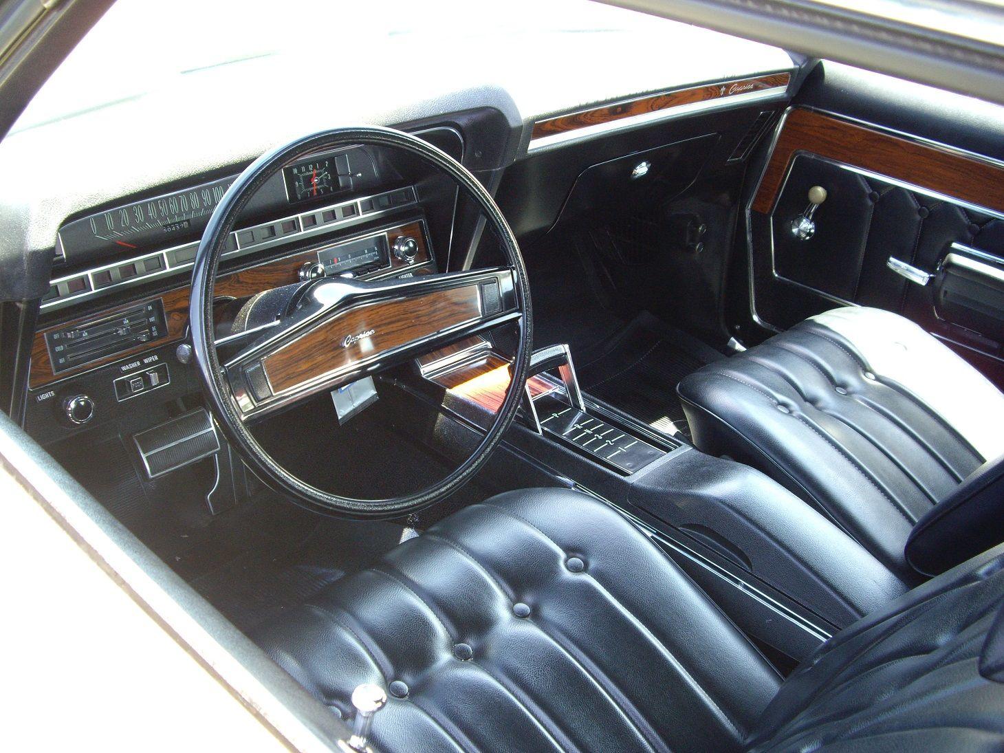 1969 Chevrolet Caprice Interior With Strato Bucket Seats
