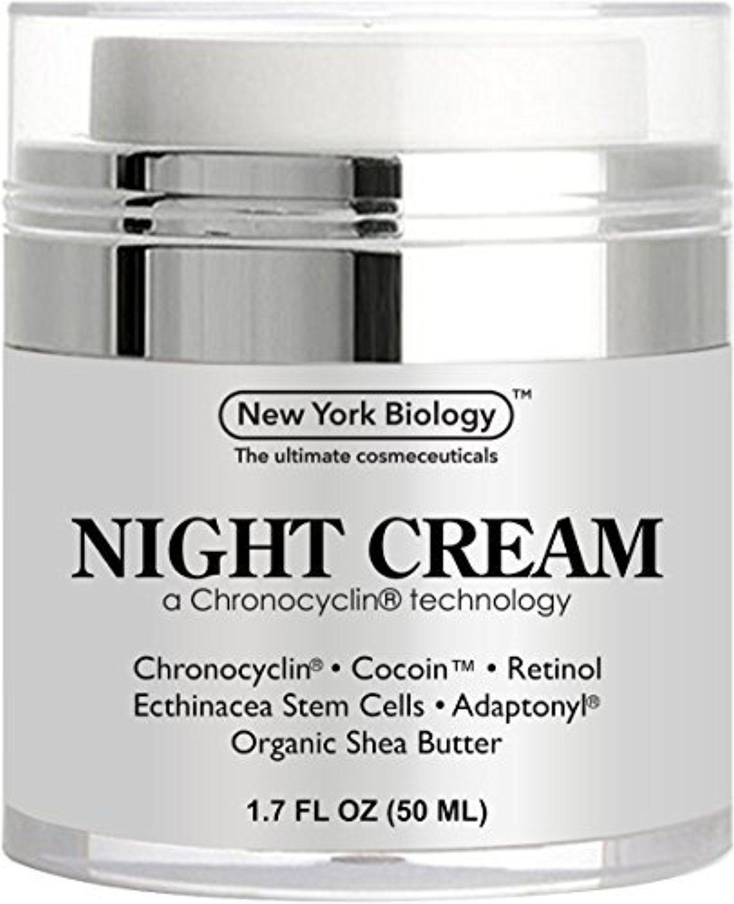 Best anti aging night cream moisturizer with retinol