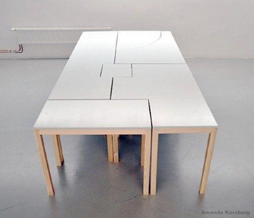 7wonders Modular Table By Swedish Designer Amanda Karsberg Seven
