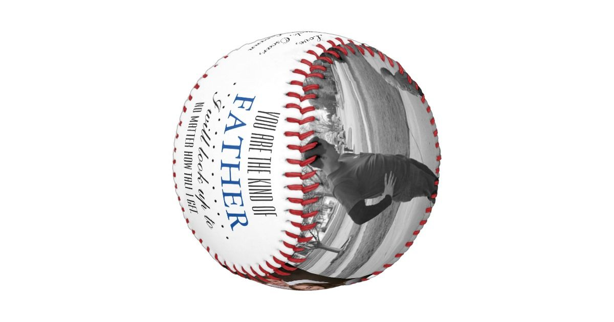 Birthday fathers day baseball gift for dad