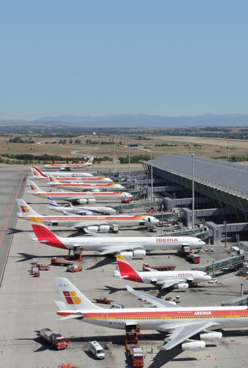 Madrid International Airport: Iberia-land | Air/Sea/Land ...