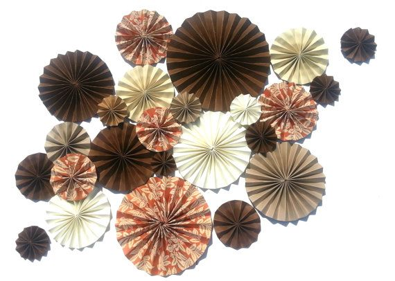 Fall Colored Pinwheel Set  Only one available by DECORBYTORIA, $70.00