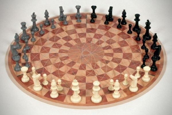 3-Man Chess Set Ups the Ante on the Classic Game