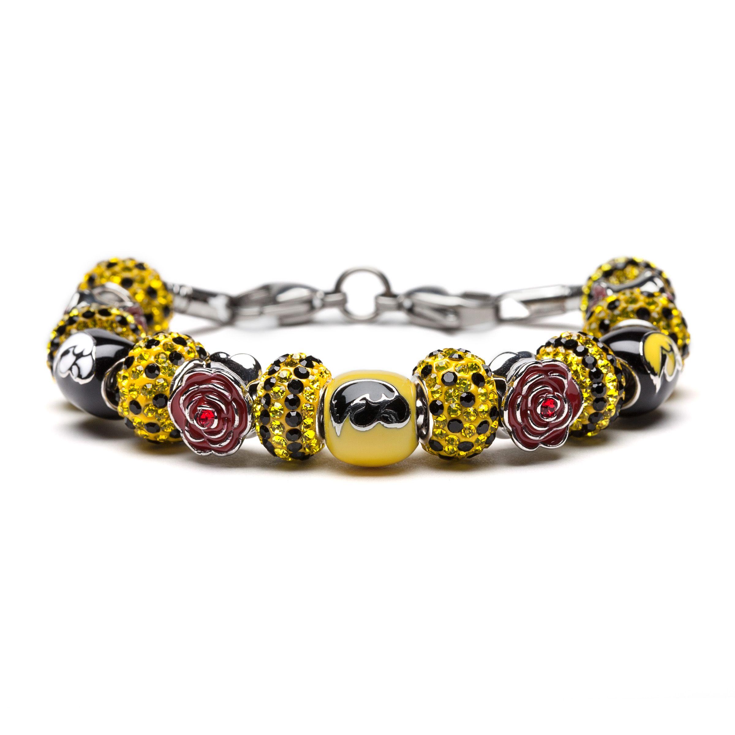 Iowa Hawkeyes Bracelet Jewelry Stone Armory Hawkeyenation