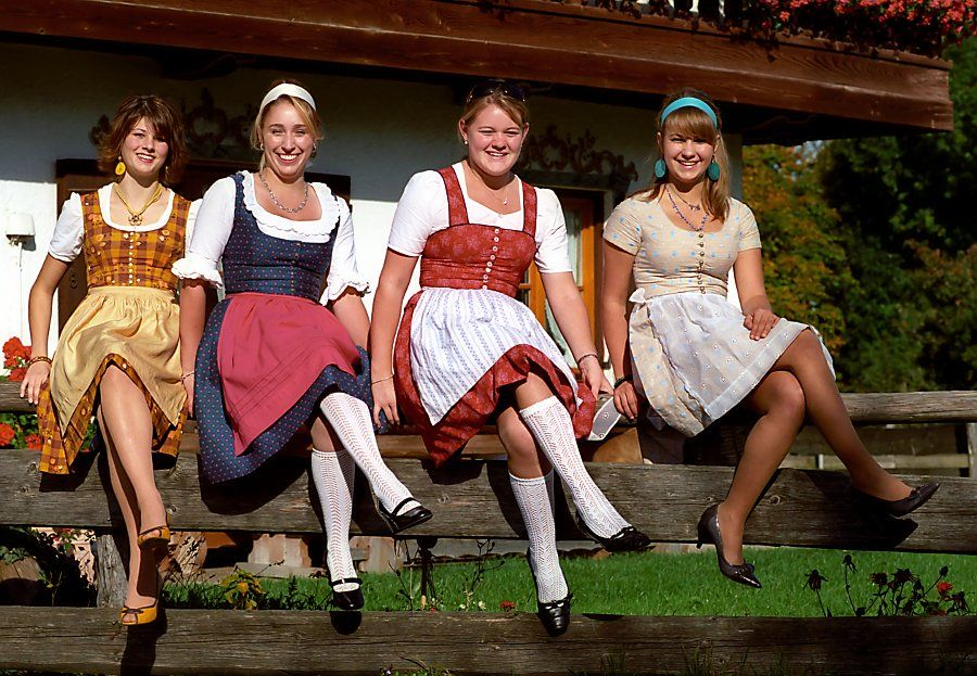 German national dress name with images